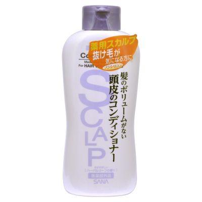 Sana Scalp Conditioner Delicate Кондиционер для чувствительной кожи головы, придающий объем, 250 ml