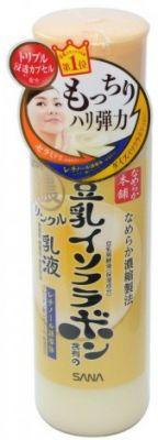 Увлажняющее и подтягивающее молочко с ретинолом и изофлавонами сои SANA, 150 мл
