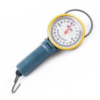 Круглые весы с крючком Безмен, 20 кг, Желтый