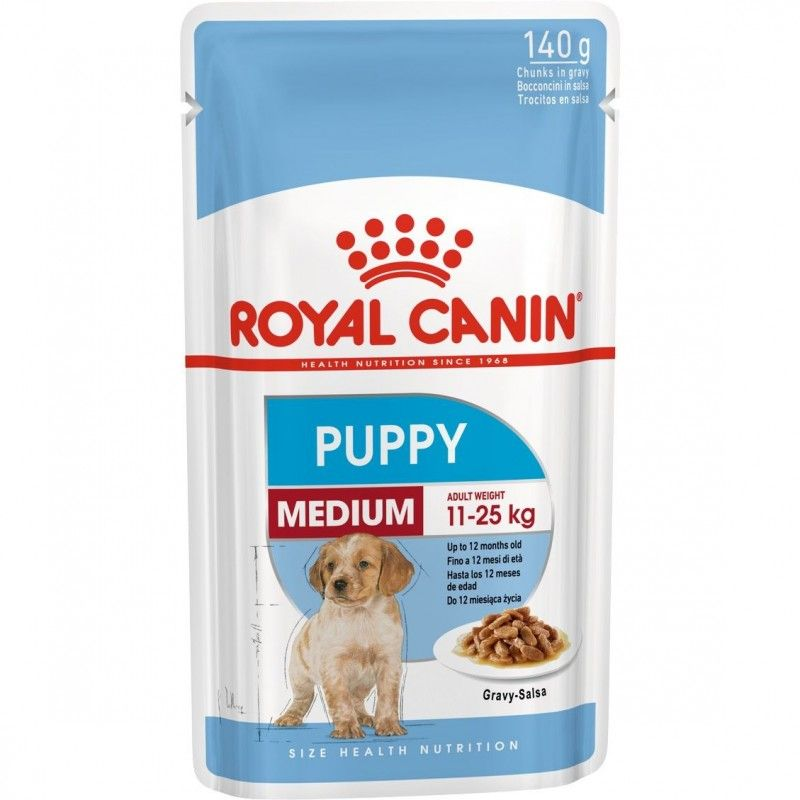 Royal Canin Медиум Паппи (соус) 140 гр.