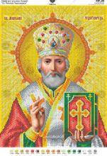 А3Р_191 Virena. Святой Николай Чудотворец А3 (набор 1375 рублей)