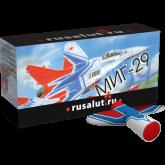 Летающий фейерверк МИГ 29