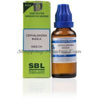 Кефаландра Индига раствор 1000 CH SBL Homeopathy | SBL Cephalandra Indica Dilution 1000 CH