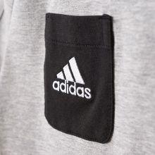 Детская футболка adidas Tiro 17 Tee серая