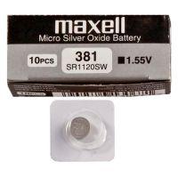 Батарейка Maxell SR-1120SW В1 (381)