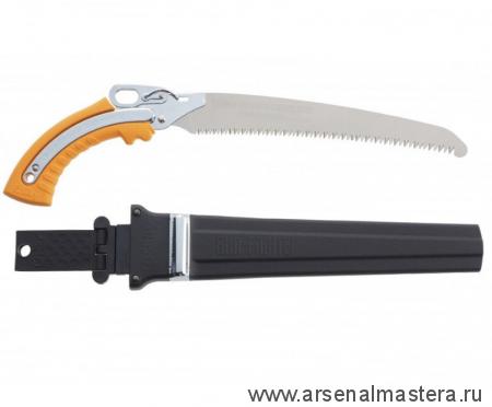 Пила Silky Gunfighter Curve 300мм 8.5-6 зубьев/30мм в чехле для сырой древесины М00015817