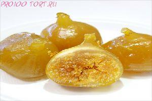 Инжир засахаренный без красителя АМБРОЗИО   вес 100 гр.