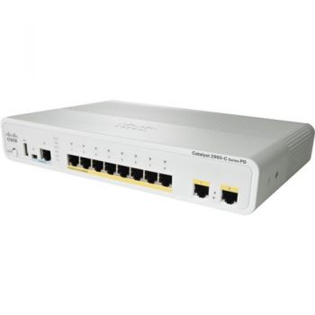 Коммутатор Cisco Catalyst WS-C2960C-8PC-L