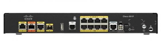 Маршрутизатор Cisco 891F-K9