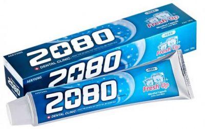 Aekyung Dental Clinic 2080 Fresh Up Зубная паста освежающая экстра мятная 120 гр