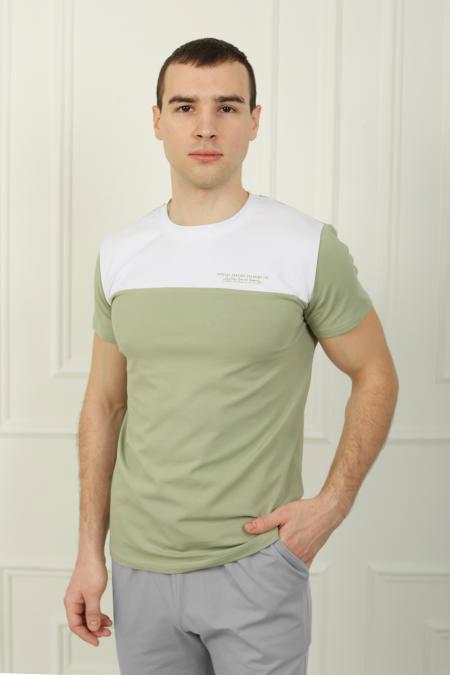 "Мужская футболка ""Family Look 2З"", фулайкра"