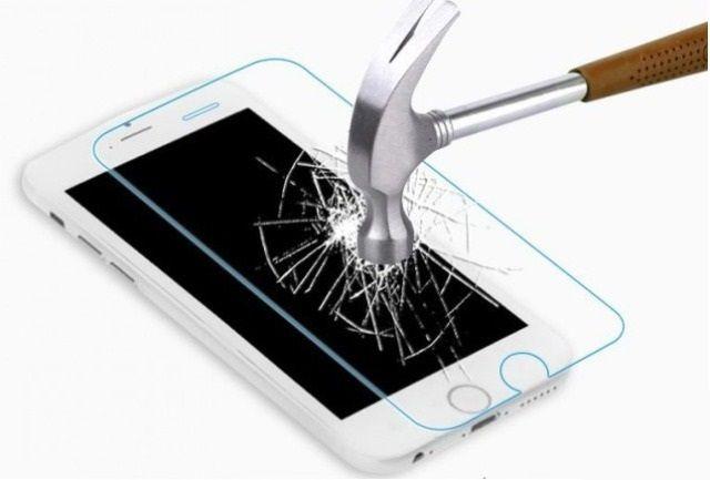 Защитное стекло Huawei P Smart (бронестекло, 3D white)