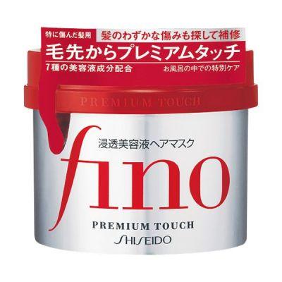 Shiseido Fino Premium Touch Маска для сухих волос Восстанавливление и увлажнение с пчелиным маточным молочком 230 гр