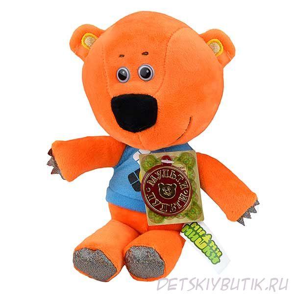 Мягкая игрушка без чипа - Медвежонок Кеша из серии «Ми-ми-мишки», 20 см.