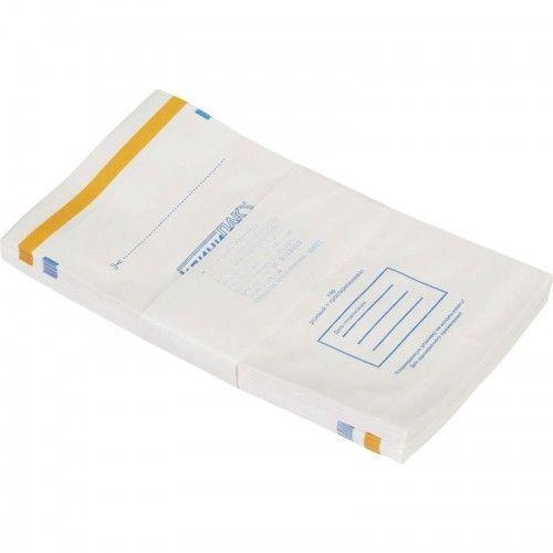 Пакет для стерилизации влагопрочные белый №100