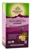 Зеленый чай Тулси Жасмин Органик Индия / Organic India Tulsi Green Tea Jasmine