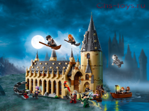 Конструктор Bela Justice Magician Большой зал Хогвартса  11007  (Аналог LEGO Harry Potter 75954) 938 дет