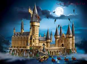 Конструктор Bela Justice Magician  Замок Хогвартс 11025 (Аналог LEGO Harry Potter 71043) 6044 дет