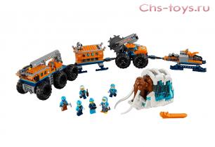 Конструктор BELA City Передвижная арктическая база 10997 (Аналог LEGO City 60195) 804 дет