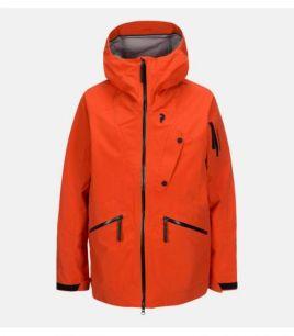 Peak Performance Bec Jacket Orange Lava