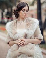 Норковая накидка купить в Москве от бренда