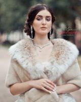 Накидка-палантин из рыси и норки купить в Москве от бренда
