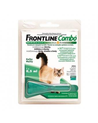 Эктопаразитарное средство Фронтлайн Комбо для кошек и хорьков