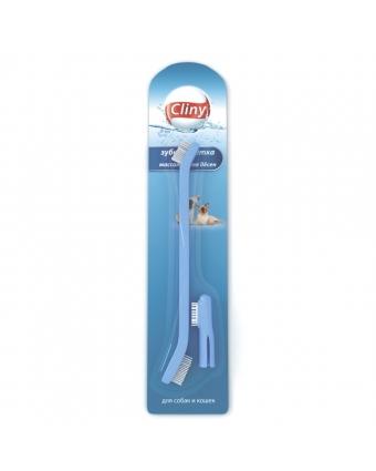 Cliny К103 Зубная щетка+массажер для десен