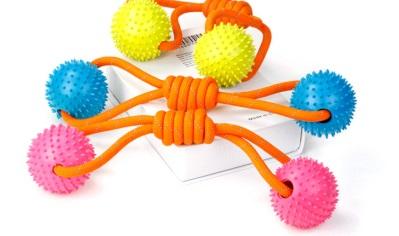 Грейфер с 2-мя каучуковыми мячами