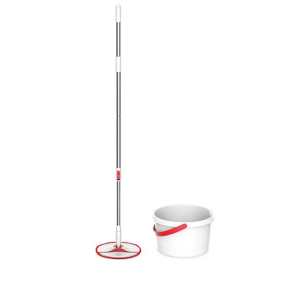 Комплект для уборки Yijie Rotary Mop Set Швабра + Ведро с отжимом YD-02