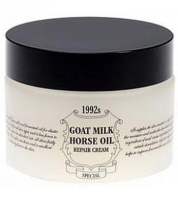 Chamos Acaci Увлажняющий крем для лица с козьим молоком и лошадиным маслом 50 мл