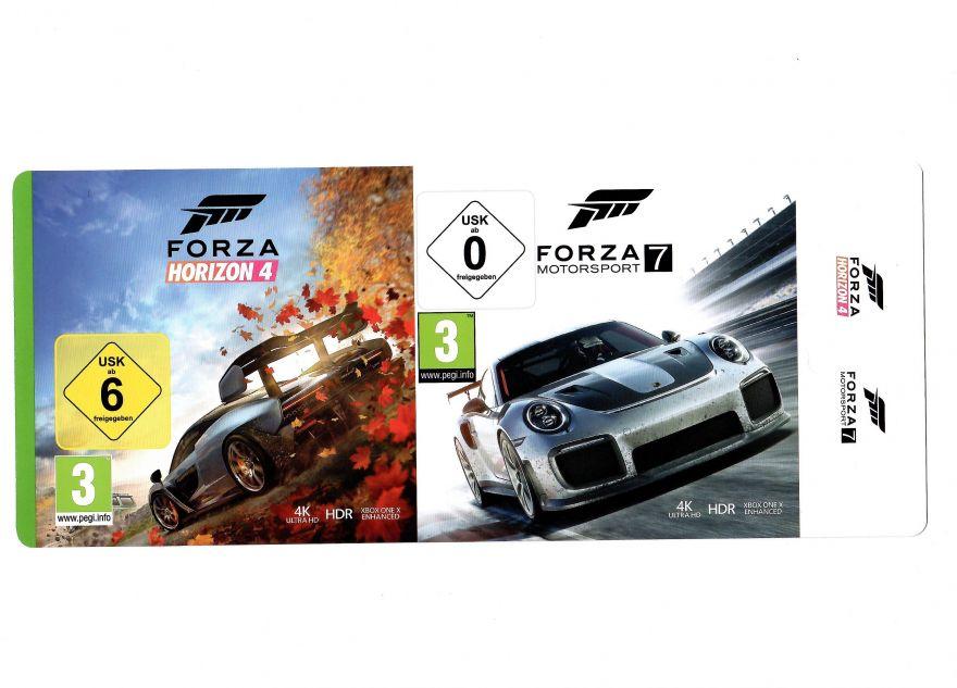 Игра Forza Horizon 4 & Forza Motorsport 7 (Код на загрузку) (Xbox One)