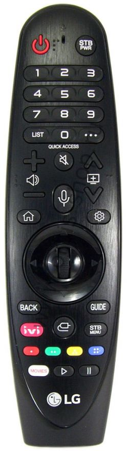 Пульт ДУ Magic Remote LG AN-MR19BA, 2019г.
