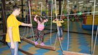 Верёвочный парк, детский уровень