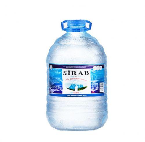 Sİrab qazsız su 5 lt