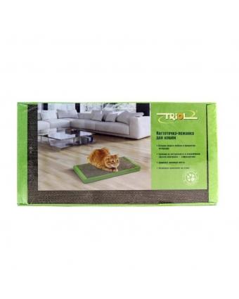 Лежанка-когтеточка для кошек ТРИОЛ СТ48 из гофрокартона