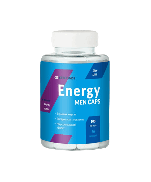 Energy men Caps Cybermass, 100 капс