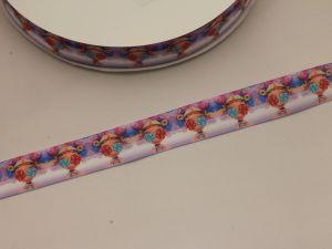 Лента репсовая с рисунком, ширина 25 мм, длина 10 метров, ЛР5748-11