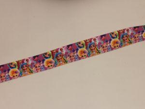 `Лента репсовая с рисунком, ширина 25 мм, Р-ЛР5748-16