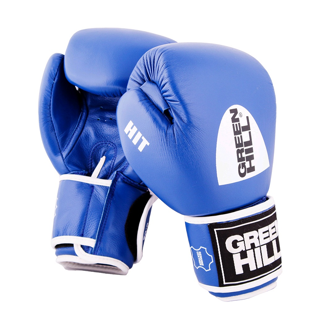 Перчатки боксерские GREEN HILL HIT BGH-2257 синие