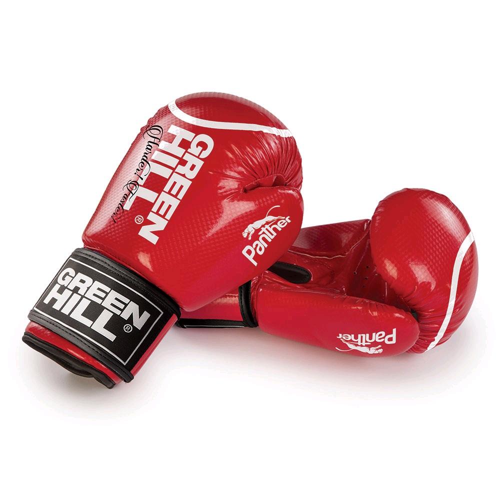 Перчатки боксерские GREEN HILL PANTHER BGP-2098 красные