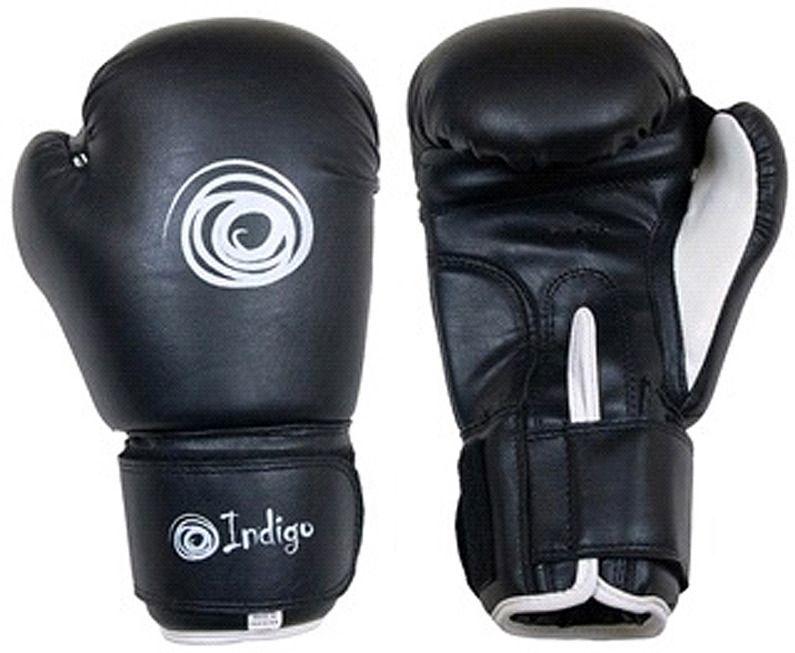 Перчатки боксерские INDIGO PS-790 черные