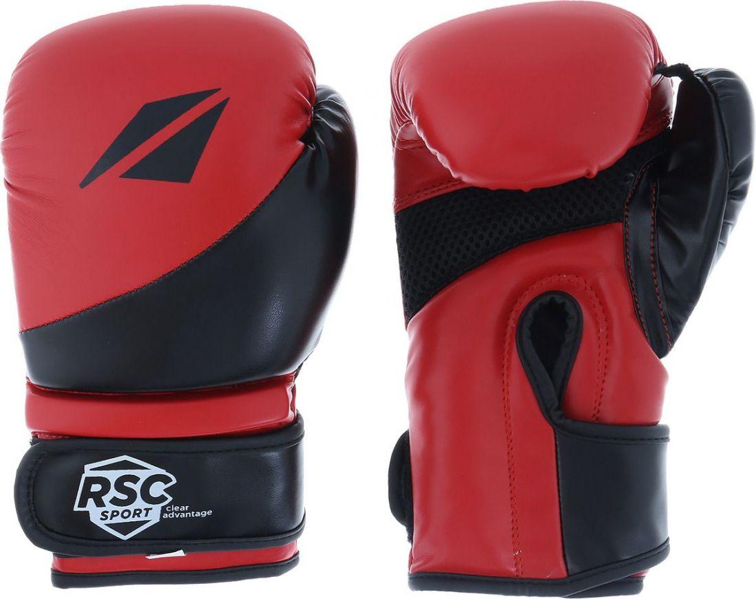 Перчатки боксерские RSC FLEX BF BX 023 черно-красные