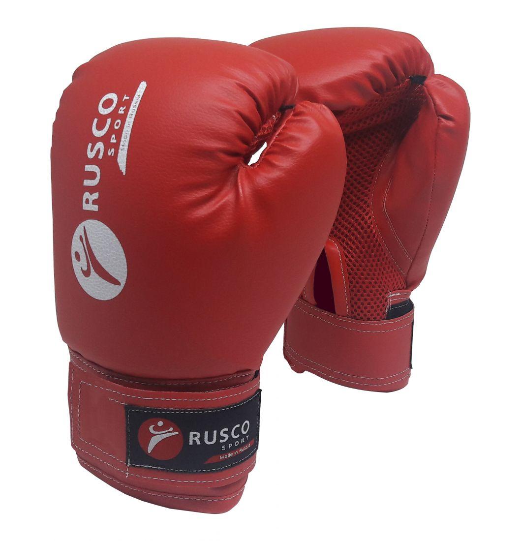 Перчатки боксерские RUSCO SPORT красные