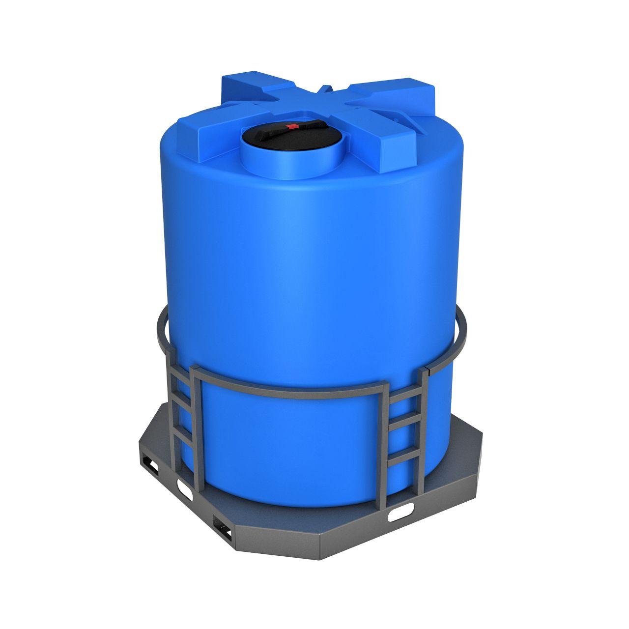 Емкость T 5000 литров в обрешетке с утеплением и поддоном