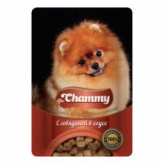 Chammy Говядина в соусе д/соб 85 гр