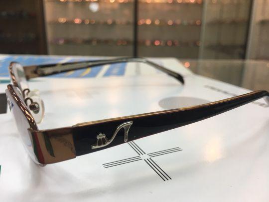Готовые очки с медицинскими линзами Merck 726 C7