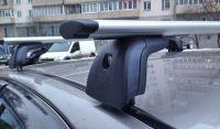 Багажник на крышу Volkswagen Polo hatchback, 1995-2001, Amos Beta, крыловидные дуги