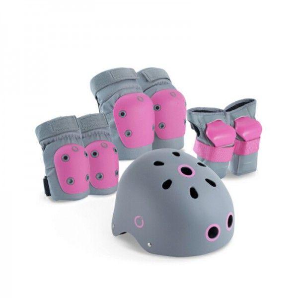 Комплект защиты для детей (Розовый + Серый)