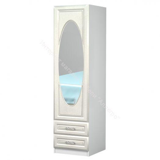 """Шкаф одностворчатый с зеркалом """"Жемчужина"""""""